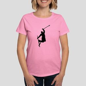 Freestyle ski jump Women's Dark T-Shirt
