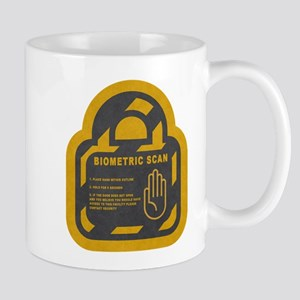 Biometric Scan T-Shirt Mugs