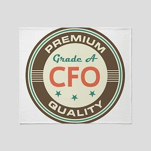CFO Vintage Throw Blanket