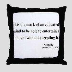 Aristotle 1 Throw Pillow