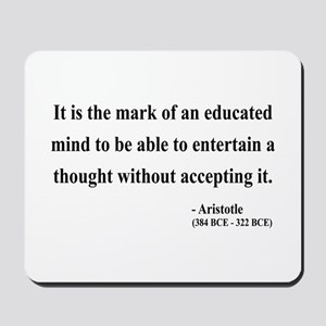 Aristotle 1 Mousepad
