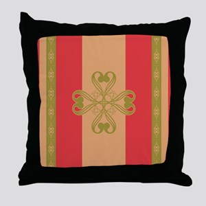 Strawberry Field Royal Throw Pillow