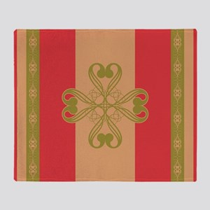 Strawberry Field Royal Throw Blanket