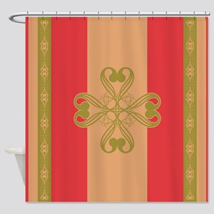 Strawberry Field Royal Shower Curtain