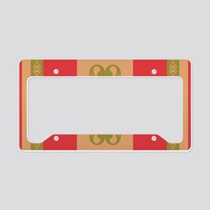 Strawberry Field Royal License Plate Holder