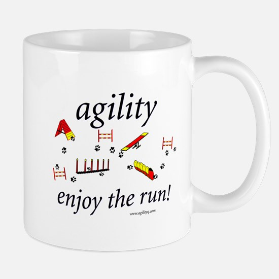 Agility - Enjoy the Run! Mug