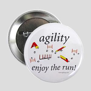 Agility - Enjoy the Run! Button