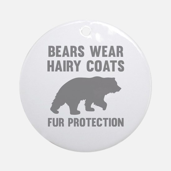 Fur Protection Ornament (Round)