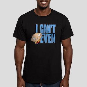 Family Guy Stewie I Ca Men's Fitted T-Shirt (dark)