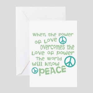 World Peace Greeting Cards