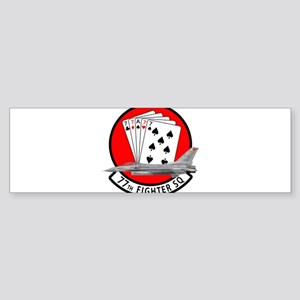 77sqa Bumper Sticker