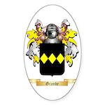 Grande Sticker (Oval 50 pk)