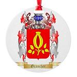 Grancher Round Ornament