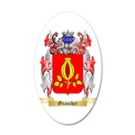 Grancher 20x12 Oval Wall Decal