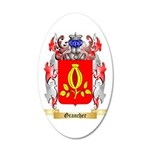 Grancher 35x21 Oval Wall Decal