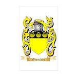 Granahan Sticker (Rectangle 50 pk)