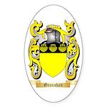 Granahan Sticker (Oval 50 pk)