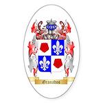 Granados Sticker (Oval 50 pk)