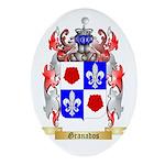 Granados Ornament (Oval)
