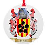 Grafton Round Ornament