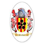 Grafton Sticker (Oval 50 pk)