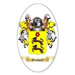 Gradwell Sticker (Oval 50 pk)