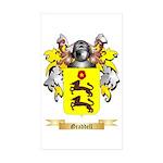 Graddell Sticker (Rectangle 50 pk)