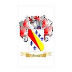 Gracia Sticker (Rectangle 50 pk)