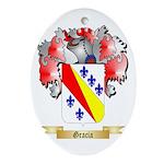 Gracia Ornament (Oval)