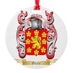 Grace Round Ornament