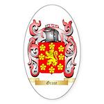 Grace Sticker (Oval 50 pk)