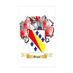 Graca Sticker (Rectangle 50 pk)
