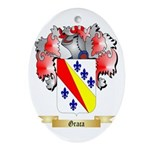Graca Ornament (Oval)