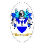 Graby Sticker (Oval 10 pk)