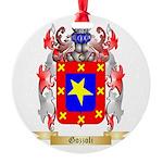 Gozzoli Round Ornament