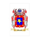 Gozzoli Sticker (Rectangle 50 pk)