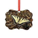 Summer Tiger Swallowtail Butterfly Ornament