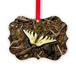 Summer Tiger Swallowtail Butterfly Ornament