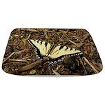 Summer Tiger Swallowtail Butterfly Bathmat