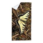 Summer Tiger Swallowtail Butterfly Beach Towel