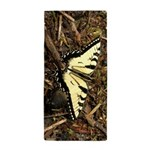 Summer Tiger Swallowtail Butterfly Beach Towel