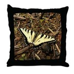Summer Tiger Swallowtail Butterfly Throw Pillow