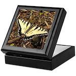 Summer Tiger Swallowtail Butterfly Keepsake Box