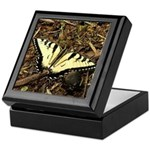 Summer Tiger Swallowtail Butterfly Keepsake Box