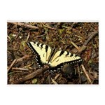 Summer Tiger Swallowtail Butterfly 5'x7'Area Rug