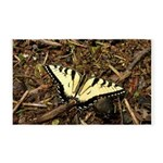 Summer Tiger Swallowtail Butterfly 3'x5' Area Rug