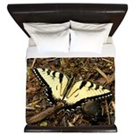 Summer Tiger Swallowtail Butterfly King Duvet