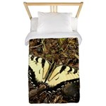 Summer Tiger Swallowtail Butterfly Twin Duvet