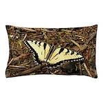 Summer Tiger Swallowtail Butterfly Pillow Case