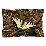 Summer Tiger Swallowtail Butterfly Pillow Case
